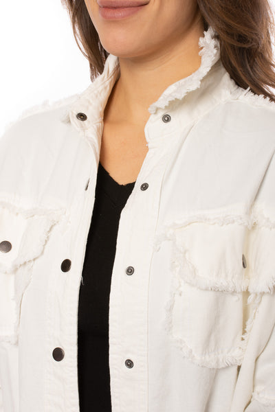 "Elan - One Size Fits All ""Rock & Roll"" Jacket (DE8121, White) alt view 6"
