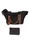 Haute Shore - Weekender Morgan Tour (WEEKEND, Black w/Pink & Orange Straps) alt view 5