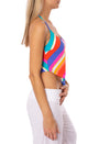 Trina Turk - Sunset Chevron Tankini (TT9HU82, Multi Color) alt view 1