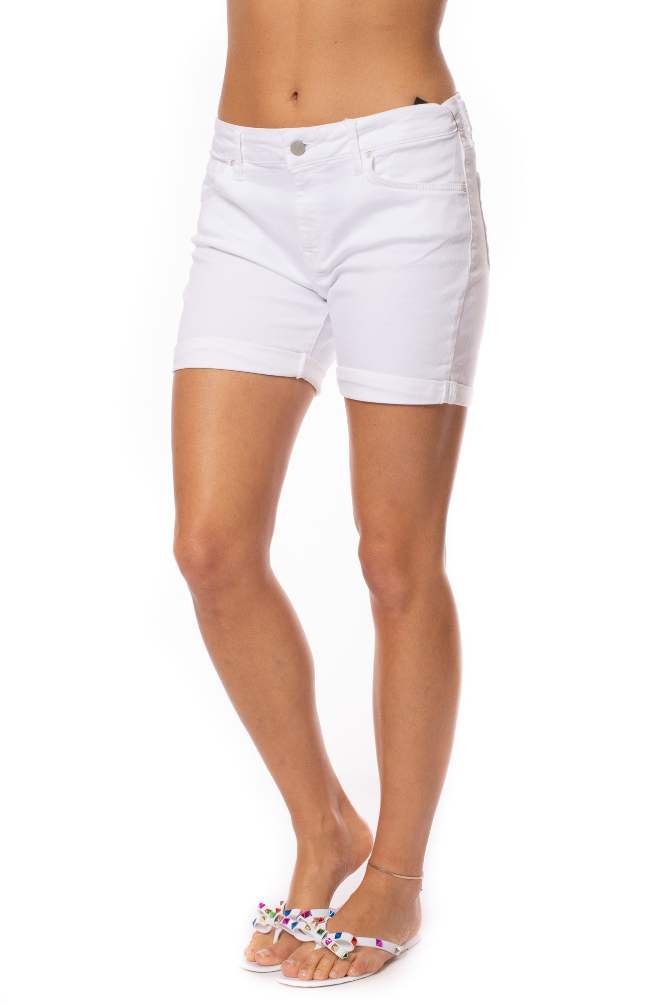 Mavi Jeans - Pixie White Tribeca Shorts (14370, White)