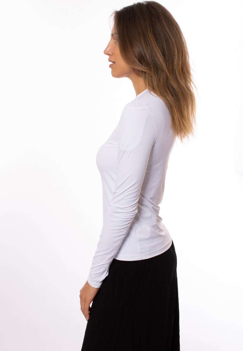 Bloqwear Retail - 24/7 Long Sleeve W/Phone Holster (2001, White)