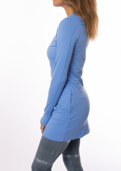 Bloqwear Retail - Tunic Drs (2025, Sky Blue) alt view 1