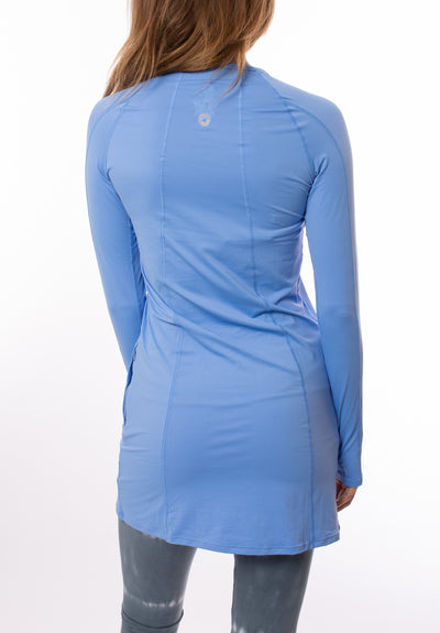 Bloqwear Retail - Tunic Drs (2025, Sky Blue) alt view 2