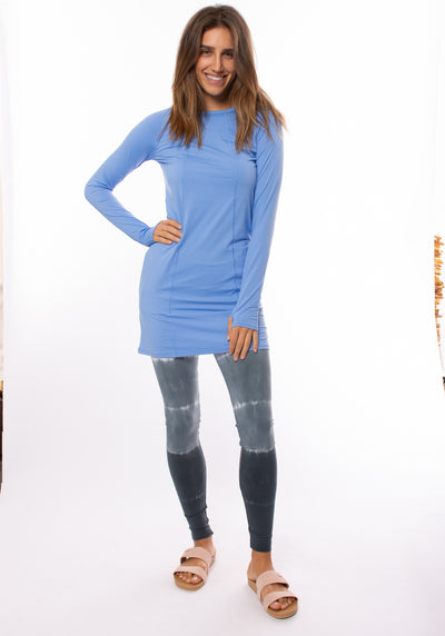 Bloqwear Retail - Tunic Drs (2025, Sky Blue) alt view 6