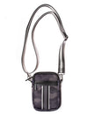 Haute Shore - Casey Elite Cell Phone Crossbody (Casey, Black Camo w/Black & White Stripe) alt view 1