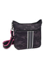 Haute Shore - Blake Elite Cross Body (Black, Black Camo w/Black & White Stripes) alt view 1