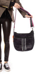 Haute Shore - Blake Elite Cross Body (Black, Black Camo w/Black & White Stripes) alt view 6