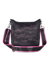 Haute Shore - Blake Elite Cross Body (Black, Black Camo w/Black & White Stripes) alt view 7