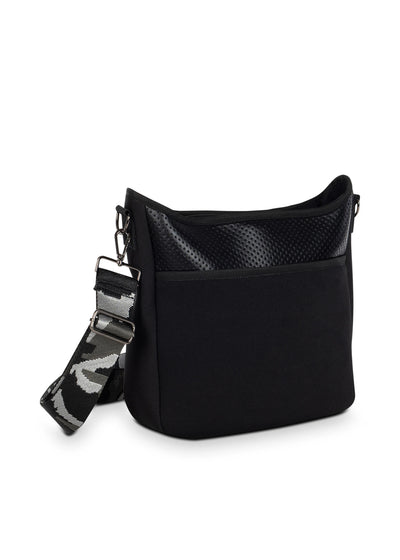 Haute Shore - Blake Nior Cross Body (Blake, Black Non Perforated Neoprene w/Black Coated Accents) alt view 1