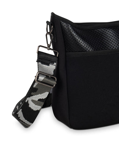 Haute Shore - Blake Nior Cross Body (Blake, Black Non Perforated Neoprene w/Black Coated Accents) alt view 2