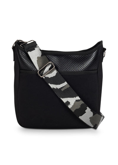 Haute Shore - Blake Nior Cross Body (Blake, Black Non Perforated Neoprene w/Black Coated Accents) alt view 3