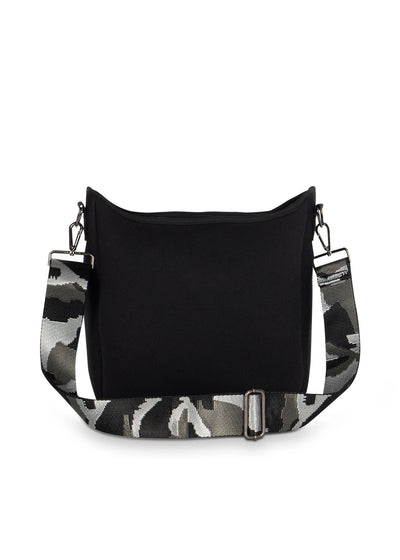 Haute Shore - Blake Nior Cross Body (Blake, Black Non Perforated Neoprene w/Black Coated Accents) alt view 4