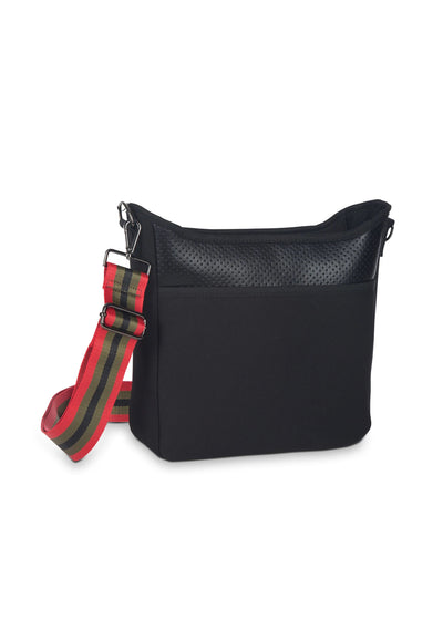 Haute Shore - Blake Nior Cross Body (Blake, Black Non Perforated Neoprene w/Black Coated Accents) alt view 6
