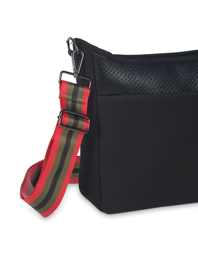 Haute Shore - Blake Nior Cross Body (Blake, Black Non Perforated Neoprene w/Black Coated Accents) alt view 7