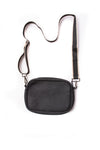 Haute Shore - Drew Puffer Grand Crossbody (Drew, Black Denim w/Platinum Stripe) alt view 2
