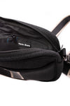 Haute Shore - Drew Puffer Grand Crossbody (Drew, Black Denim w/Platinum Stripe) alt view 3