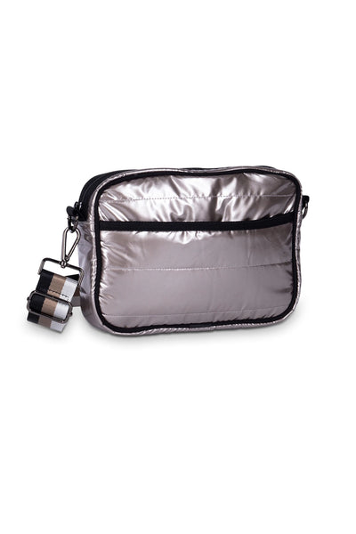 Haute Shore - Drew Puffer Noble Crossbody (Drew, Metalic Silver) alt view 1
