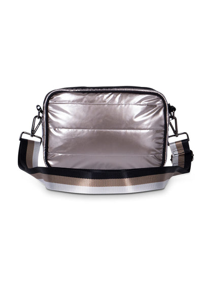 Haute Shore - Drew Puffer Noble Crossbody (Drew, Metalic Silver) alt view 3