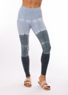 Hard Tail Forever - High Rise Ankle Legging Tie-Dye Bl2 (W-566, Tie-Dye BL2) alt view 5