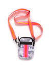 Haute Shore - Casey Rise Neoprene Cell Phone Case (RISE, Grey Camo w/Pink & Red Stripe) alt view 1