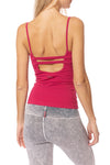 Hard Tail Forever - Strap Back Tank W/Bra (W-942, Dragon Fly)