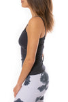 Hard Tail Forever - Strap Back Tank (W-942, Onyx) alt view 2