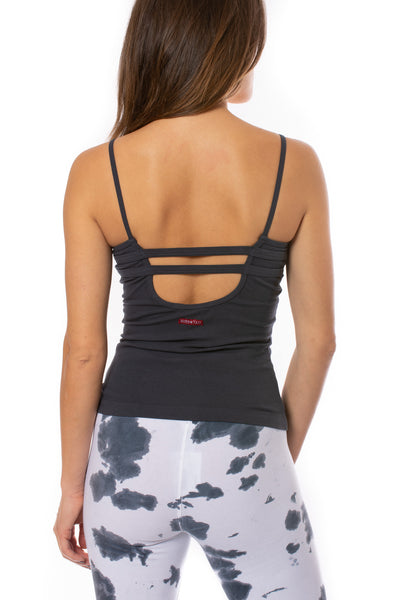 Hard Tail Forever - Strap Back Tank (W-942, Onyx) alt view 3