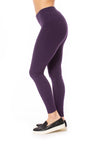 Hard Tail Forever - High Rise Ankle Legging Deep Purple (LW-566, Deep Purple)