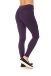 Hard Tail Forever - High Rise Ankle Legging Deep Purple (LW-566, Deep Purple) alt view 1