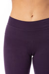 Hard Tail Forever - High Rise Ankle Legging Deep Purple (LW-566, Deep Purple) alt view 3