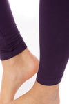 Hard Tail Forever - High Rise Ankle Legging Deep Purple (LW-566, Deep Purple) alt view 4