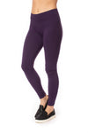 Hard Tail Forever - High Rise Ankle Legging Deep Purple (LW-566, Deep Purple) alt view 5