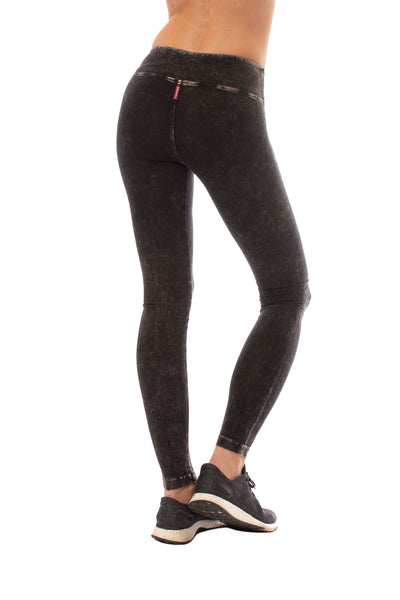 Hard Tail Forever - Flat Waist Ankle Legging (W-452, Mineral Wash MW6) alt view 3