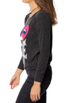 Chaser - Love Knit Long Sleeve Pullover (CW6395-CHA5621, Black) alt view 2