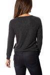 Chaser - Love Knit Long Sleeve Pullover (CW6395-CHA5621, Black) alt view 3