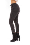 Brand Bazaar - One Size Fits All Draw String Cropie Pant (CROPIE, Black) alt view 1