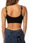 strap-its - Black Bra w/Green Camo Straps (BBG, Black/Green Camo) alt view 2