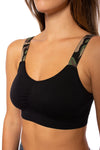 strap-its - Black Bra w/Green Camo Straps (BBG, Black/Green Camo) alt view 4