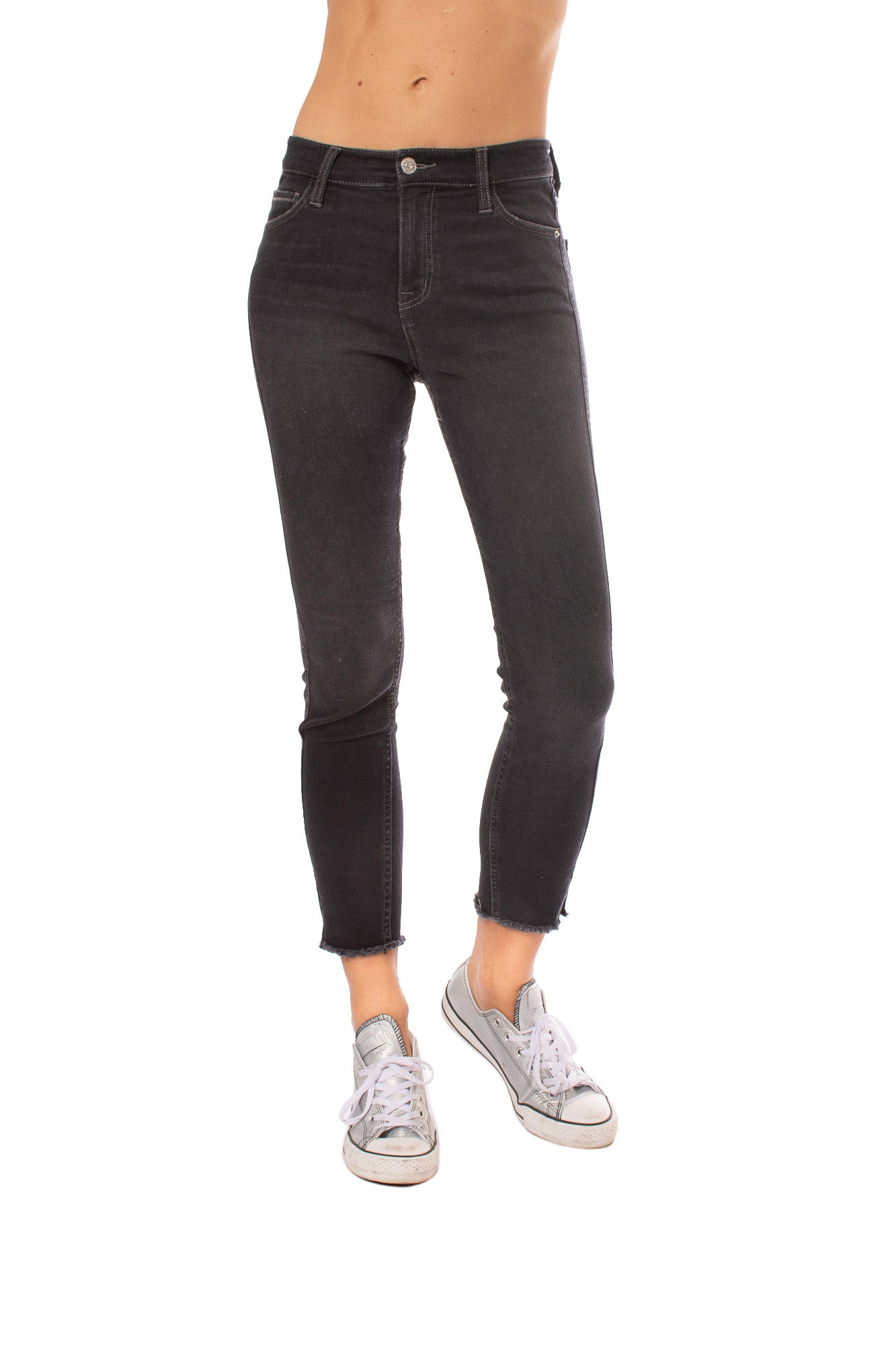 Stonefield - Conrad High Rise Ankle Skinny Jeans (CONRAD, Roby Black)