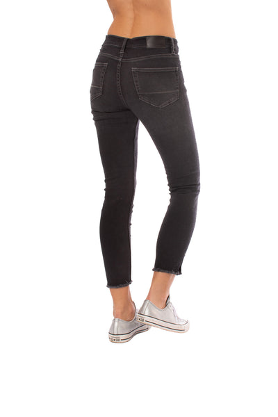 Stonefield - Conrad High Rise Ankle Skinny Jeans (CONRAD, Roby Black) alt view 2