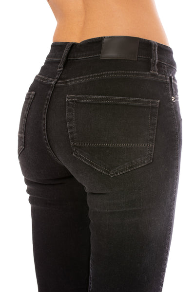 Stonefield - Conrad High Rise Ankle Skinny Jeans (CONRAD, Roby Black) alt view 3