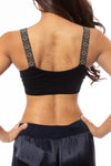 strap-its - Mini Rockstud Bra (MINIROCK, Black) alt view 2