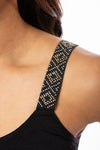 strap-its - Mini Rockstud Bra (MINIROCK, Black) alt view 4