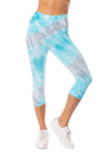 Hard Tail Forever - Hi Rise Knee Legging (W-943, Tie-Dye WWA1) alt view 4