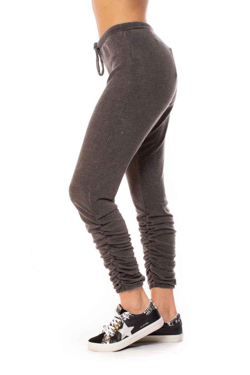 Chaser - Bliss Knit Drawstring Jogger (CW8487, Pilling Grey)