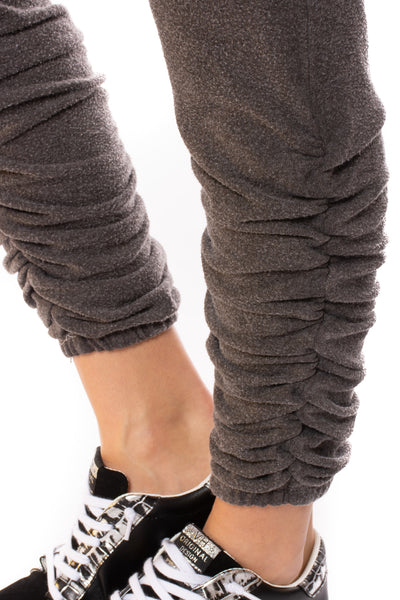 Chaser - Bliss Knit Drawstring Jogger (CW8487, Pilling Grey) alt view 5