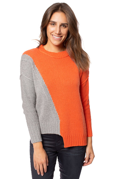 Zaket & Plover - Persimmon Crew Neck Sweater (ZW2094U, Persimmon) alt view 1