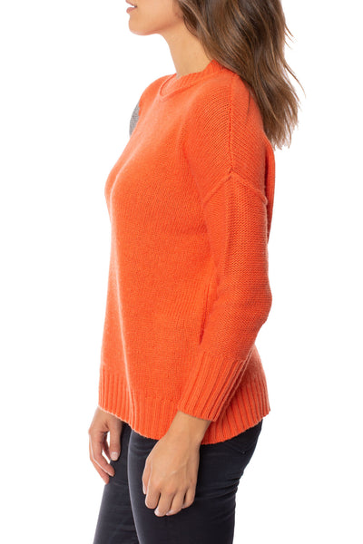 Zaket & Plover - Persimmon Crew Neck Sweater (ZW2094U, Persimmon) alt view 2