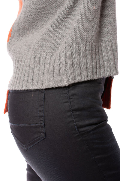 Zaket & Plover - Persimmon Crew Neck Sweater (ZW2094U, Persimmon) alt view 4