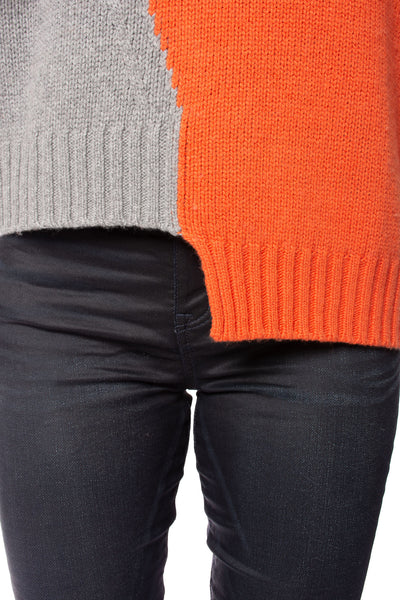 Zaket & Plover - Persimmon Crew Neck Sweater (ZW2094U, Persimmon) alt view 6
